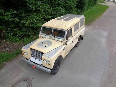 Land Rover Serie III 109 Pick up