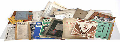 Job Lot Vintage Sheet Music & Books Mostly 1930s to 1950s Musicals + Classical