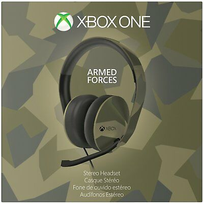 Microsoft Xbox One Armed Forces Stereo Headset Camouflage 5F4-00001