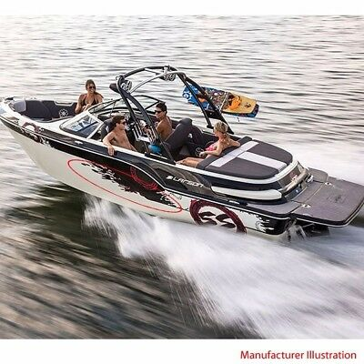 Larson Boats Hull Decals 8634-1502 | 2014 All American (Set of 4)