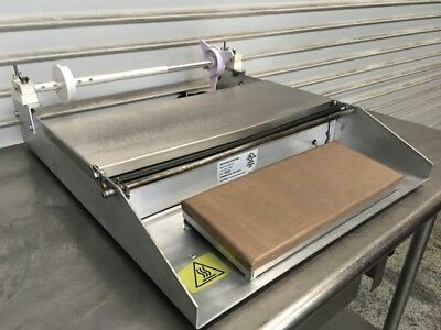 Table Top Deli Wrapper Plastic Heat Seal Machine Wrapping Station 5000156 #6954