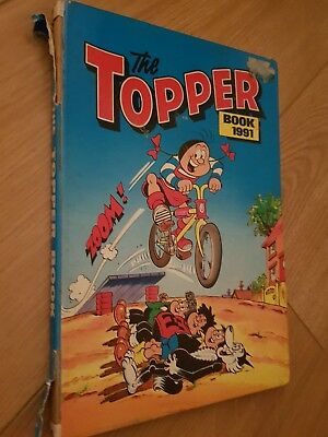 The Topper Book 1991 Annual. Unclipped