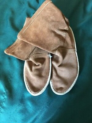 Vintage All Leather Moccasins