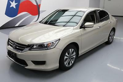 2014 Honda Accord LX Sedan 4-Door 2014 HONDA ACCORD LX SEDAN AUTO BLUETOOTH REAR CAM 16K #278499 Texas Direct Auto
