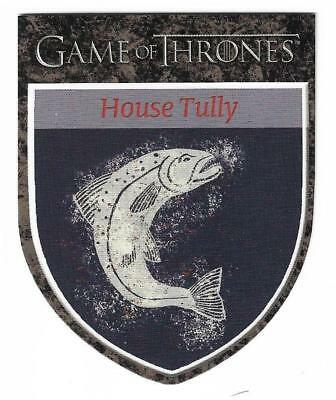 """2012 Game of Thrones Season 1 The Houses H4 House Tully """"Family Duty Honor"""""""