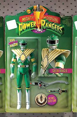 Mighty Morphin Power Rangers #1 Green Ranger Action Figure Variant Not A Toy