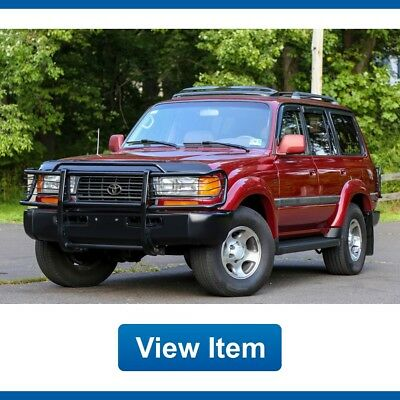 1997 Toyota Land Cruiser Base Sport Utility 4-Door 1997 Toyota Land Cruiser Collectors Edition Serviced 4WD FJ80 3rd Row Seat Tow!