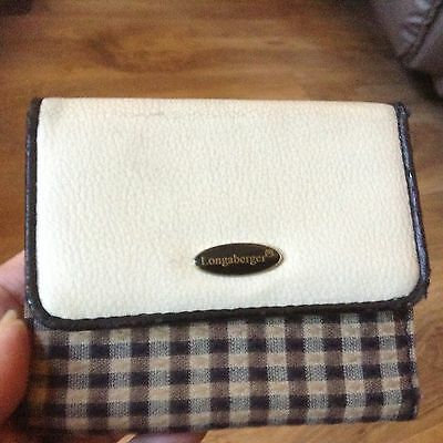 LONGABERGER WALLET - NEW (other)