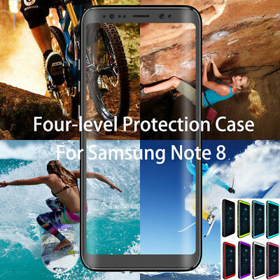 For Samsung Galaxy Note9 8/S9/S9 Waterproof Shockproof Dirtproof Hard Case Cover