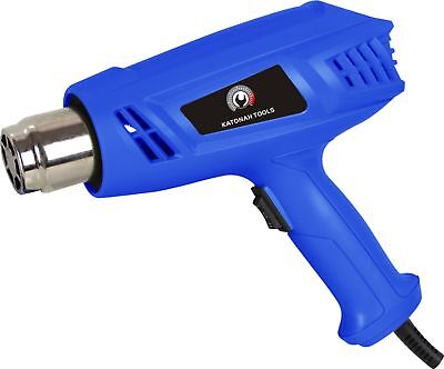 New Dual Temperature Heater Gun 1500 Watt Power Tool Hot Air Gun Drill Master