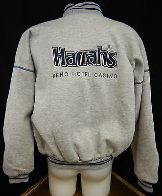 Harrah's Reno Casino Hotel Sweat Jacket XL