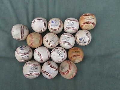 Baseballs BNSW12  Easton and PlateX Little League balls x 13