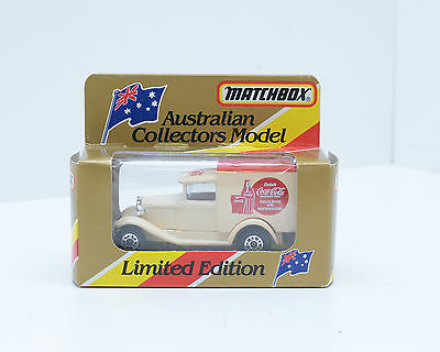 "Matchbox MB-38, Model A Ford, ""COCA COLA"", Australian Limited Edition 2277"