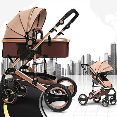 8 in 1 Baby Stroller Pram Bassinet Newborn Baby jogger Folding Pushchair Travel