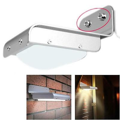 Solar Power PIR Motion Sensor Outdoor Wall Light Yard Garden Security Lamp FREE