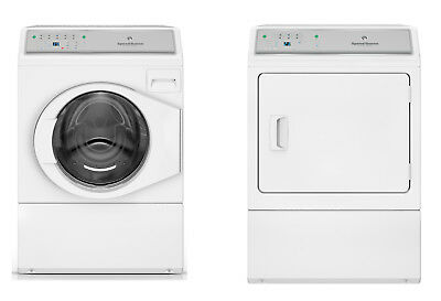 Speed Queen 10kg Washer + 9kg Electric/Gas Dryer Combo AFNE9B + ADEE8B/ADGE8B