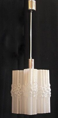 EXTREMELY RARE UNUSUAL 60s CEILING LIGHT CHANDELIER=CARLO NASON MAZZEGA  MURANO