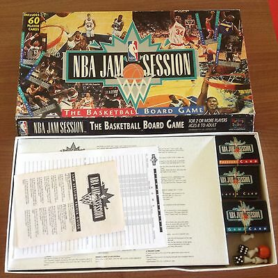 Nba Basketball Jam Session Board Game Complete