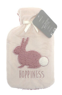 Country Club Plush Hot Water Bottle Hoppiness Bunny Christmas Stocking Filler