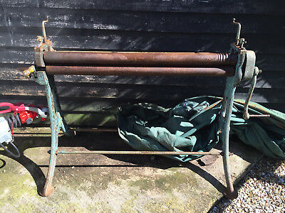 """Edwards' 48"""" traditional metal bending rollers"""