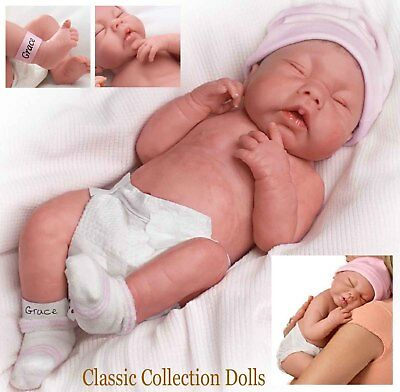 "Ashton Drake ""GOD BLESS, LITTLE GRACE"" LIFELIKE BABY GIRL DOLL-NEW-IN STOCK NOW"