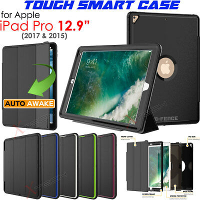 "iPad Pro 12.9"" 2017 Tough Rugged Shock Protective Slim Smart Armour Case Cover"