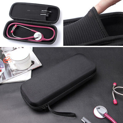 Stethoscope Storage Carry Case & Dual Headed Stethoscope FR Hospital Clinic Home