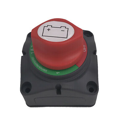 Battery Bank Selector Switch 1-2-Both-Off Battery 300A Rated Boat Marine