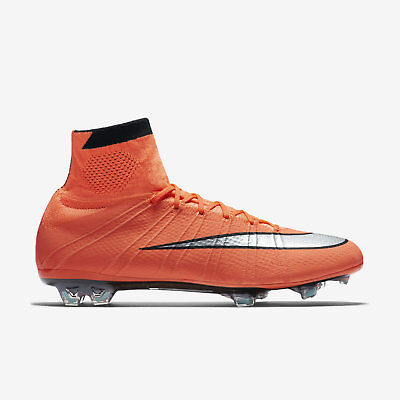 Nike Mercurial Superfly Fg Size Uk 8 Eur 42.5 Sock Football Boots Soccer Cleats