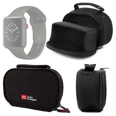 Durable Neoprene Carry Case / Pouch w/ Handle for Apple Watch Series 3