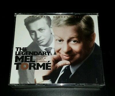 READER'S DIGEST Legendary MEL TORME Collector's Edition Oop 3 CD Box Set Rare