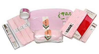 Kimono Kitsuke 11 Obi Magic Belt Makura Dressing Accessories Set +Tracking