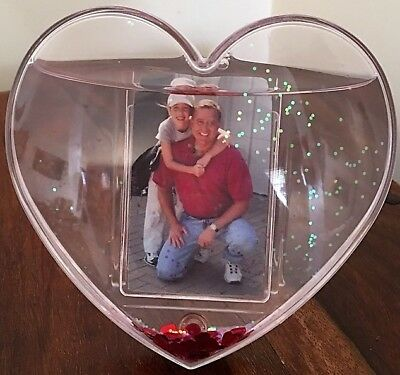 Heart Photo Snowglobe - New