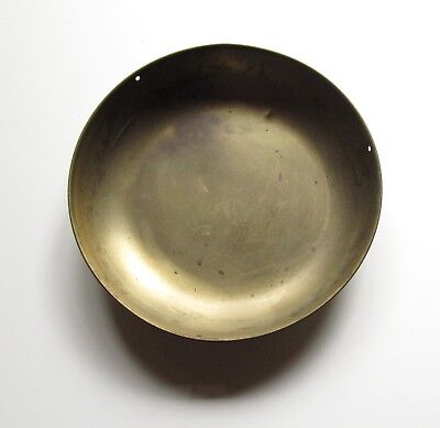 """8-3/4"""" Brass Antique General Store Candy Scale Scoop Pan Tray"""