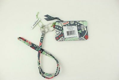 New with tags Vera Bradley Zip ID Case and Lanyard in Nomadic Floral