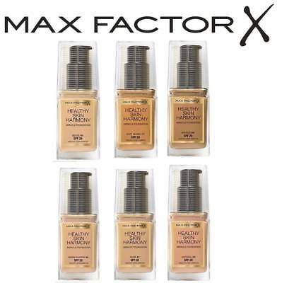 Max Factor Healthy Skin Harmony Miracle Foundation Spf 20 30Ml Brand New Sealed