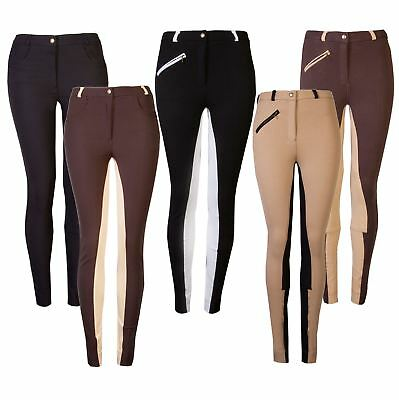 GS Equestrian Ladies/Womens Jodhpurs Deluxe Micro Stretch Jodphurs