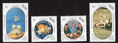 St Kitts MNH 1989 20th Ann of the First Manned Landing on the Moon