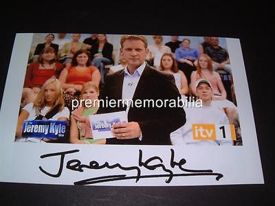The Jeremy Kyle Show Jeremy Kyle Signed- Reprint Photograph