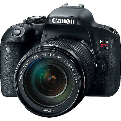 Canon EOS Rebel T7i Digital SLR Camera with 18-135mm Lens