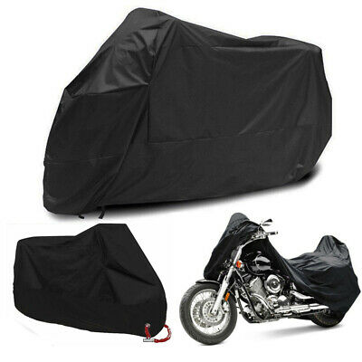 Motorcycle Rain Cover Motor Bike Scooter UV Protector Dust Resist Waterproof M