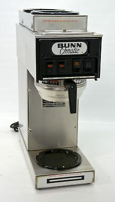 Bunn ST-15 Automatic Coffee Brewer Pourover Plumbed Machine 120V 3 Warmers