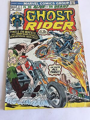 GHOST RIDER #3 (1973) VOLUME 1  1st Flaming Hellcycle MARVEL
