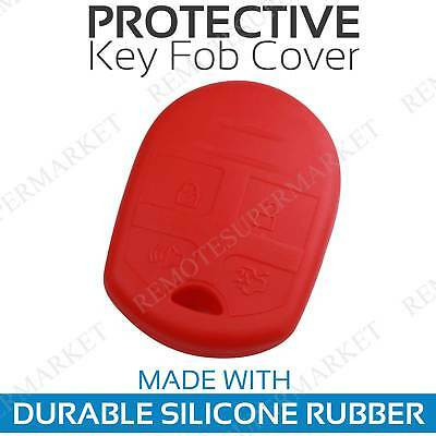 Remote Key Case for 2007 2008 2009 2010 2011 2012 2013 2014 2015 Ford Edge Red