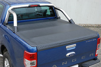FORD RANGER LADERAUMABDECKUNG DOUBLECAB LIMITED ab 2012-2013-2014-2015-2016-2017