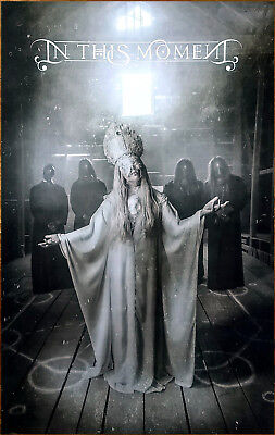 IN THIS MOMENT Ritual 2017 Ltd Ed RARE New Poster +FREE Metal Rock Poster!