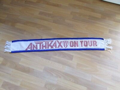 ANTHRAX Original 1980's on Tour HEAVY Metal Band Scarf no 1