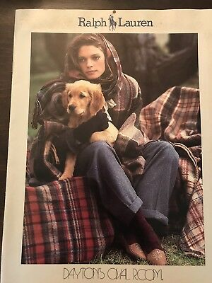 Ralph Lauren Catalog for DAYTON'S OVAL ROOM Collection Fall 1980's