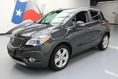 2016 Buick Encore Leather Sport Utility 4-Door 2016 BUICK ENCORE HTD LEATHER NAV REAR CAM ALLOYS 4K MI #748122 Texas Direct