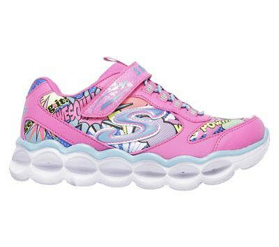 SKECHERS S LIGHTS LUMI LUXE ToddlerKids SilverMulti Light